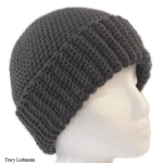 Cloche Slouchy Beanie Hat Charcoal $34